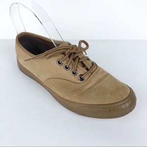Vintage Light Brown Leather Keds Sneakers